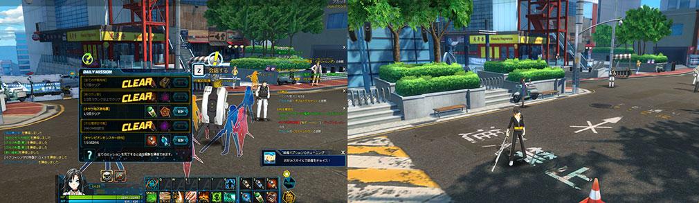 クローザーズ(CLOSERS) 近未来の日本が分かるゲームプレイ画像