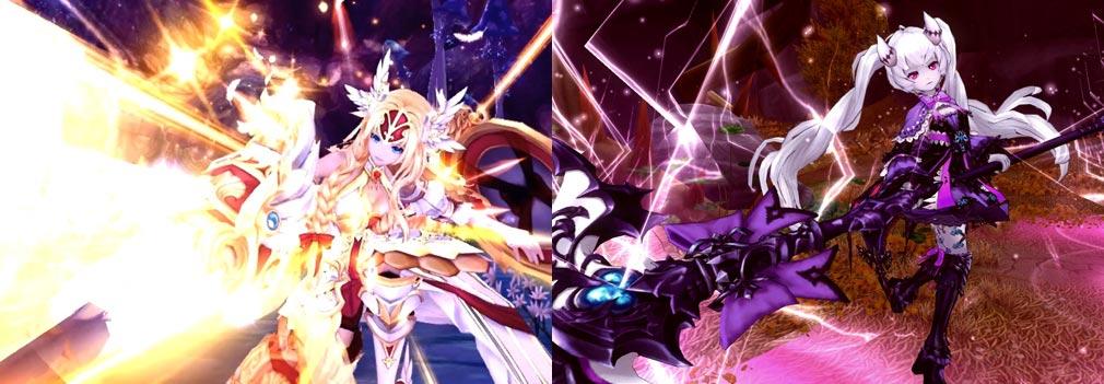 幻想神域-Cross to Fate- 綺麗なスキル発動画面