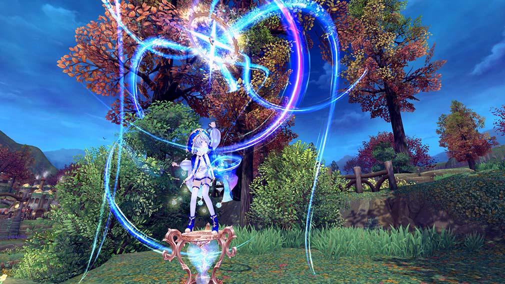 幻想神域-Cross to Fate- 幻想の綺麗なスキルショット