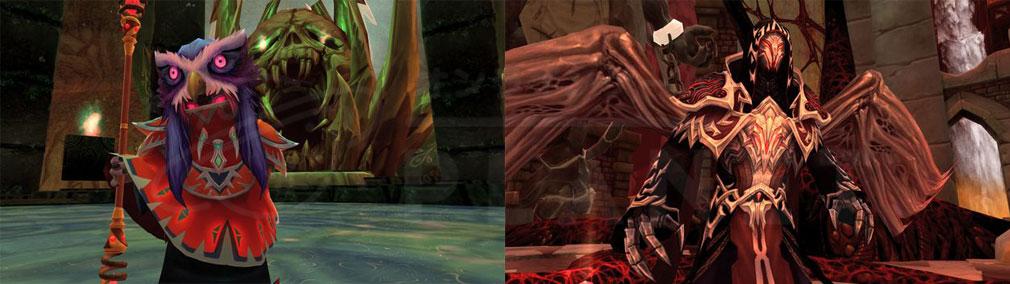 幻想神域-Cross to Fate- <地獄の守門者>ミマグ、<冥き霊魔>レッドアイスクリーンショット