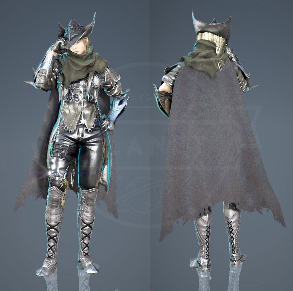 黒い砂漠 『アーチャー』カーリー衣装