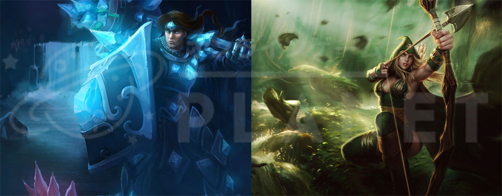 League of Legends(LoL) タリック、アーシェ