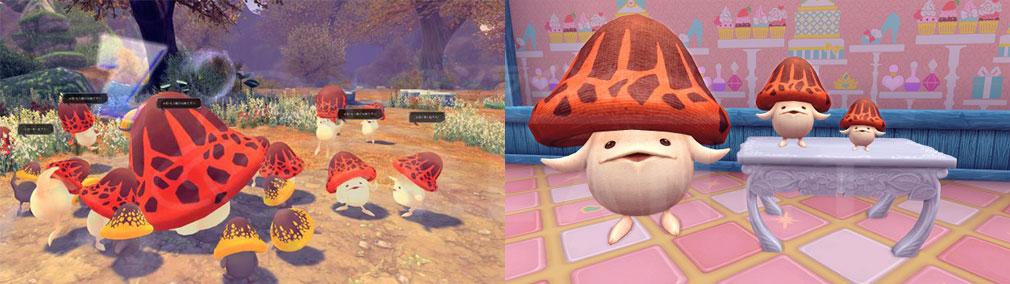 幻想神域-Cross to Fate- 『キノコッコ4号』を守り抜く毎日開催世界イベント『キノコッコの悪夢』スクリーンショット