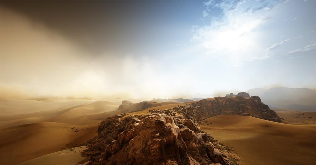 黒い砂漠 砂漠