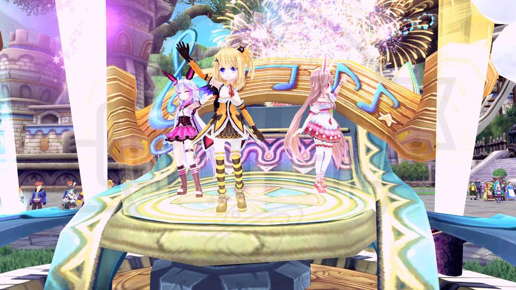 幻想神域-Cross to Fate- 毎年恒例のかわいいパレード『5周年記念イベント・パレード』スクリーンショット