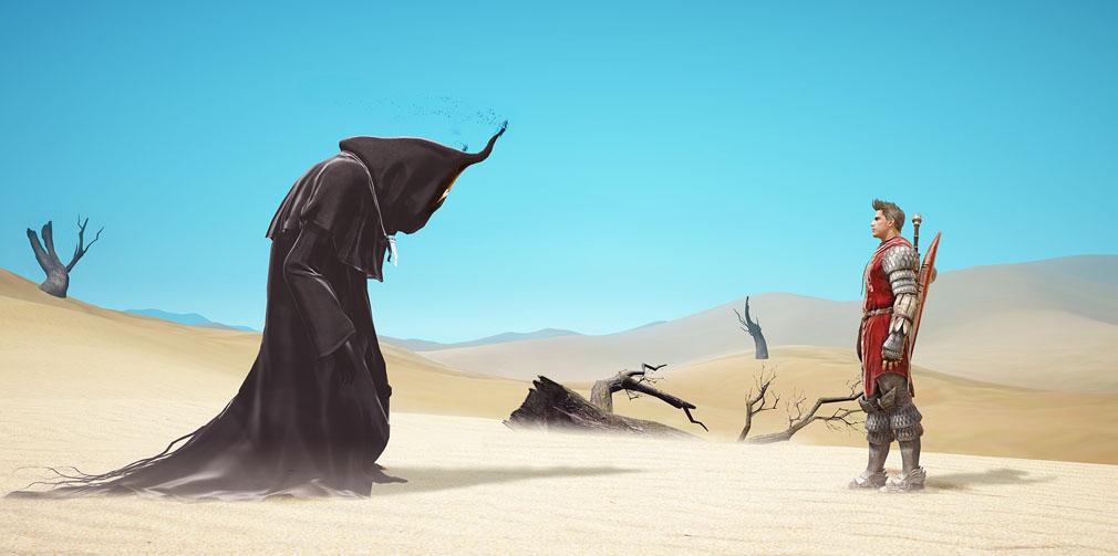 黒い砂漠 砂漠にでてきた……