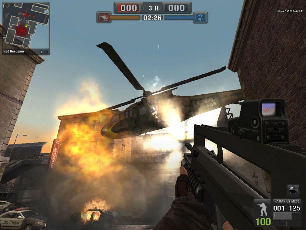 ポイントブランク(POINT BLANK)ヘリコプターを攻撃