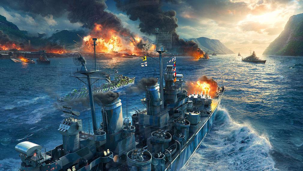 ワールドオブウォーシップス World of Warships (WoWs) シナリオモード紹介イメージ