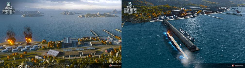 ワールドオブウォーシップス World of Warships (WoWs) シナリオモードスクリーンショット