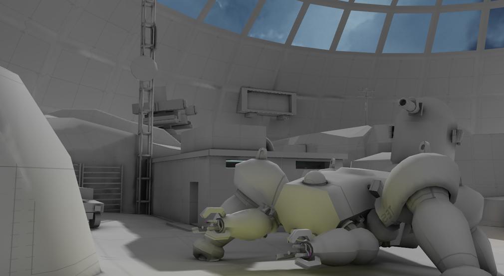 攻殻機動隊S.A.C. ファーストアサルトオンライン Military Dome(ミリタリードーム)