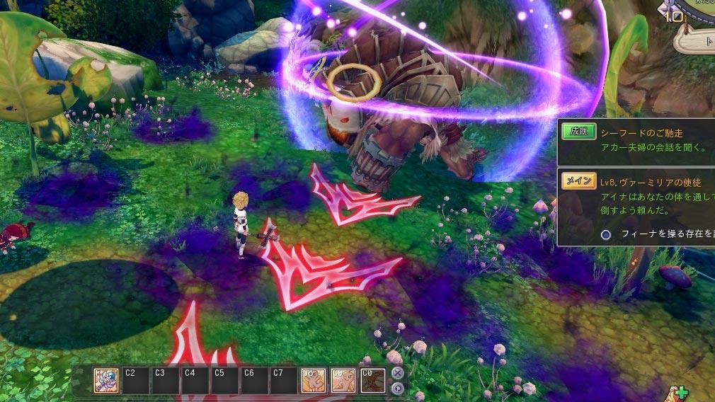 星界神話 -ASTRAL TALE-  的の攻撃範囲表示