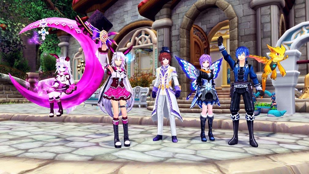 幻想神域-Cross to Fate- 幻神とプレイヤーでワキアイアイ