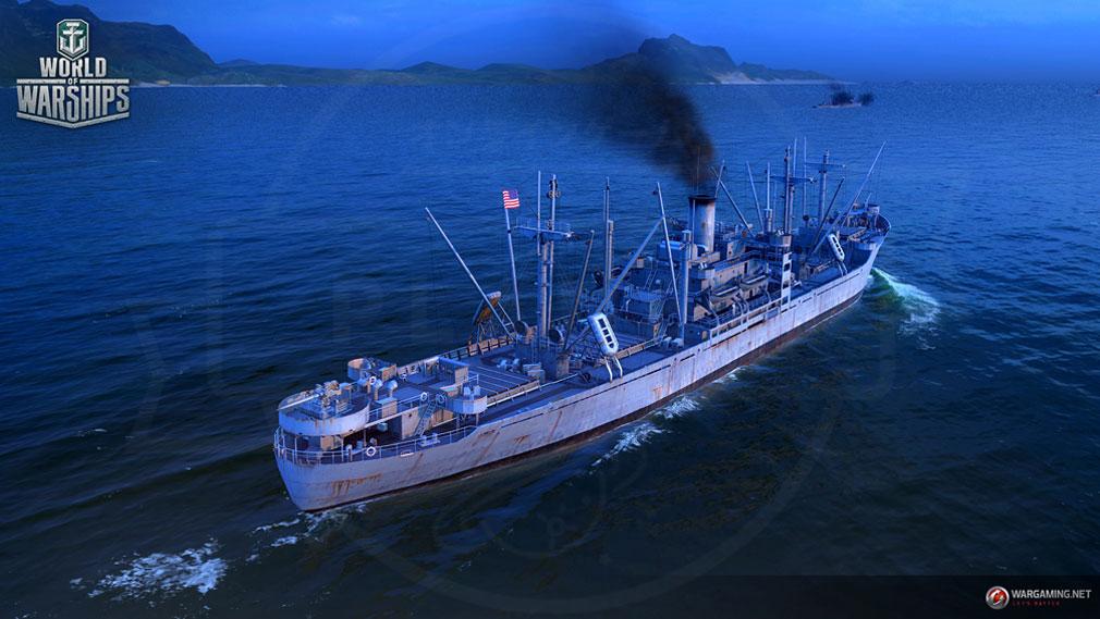 ワールドオブウォーシップス World of Warships (WoWs) 自分の船で出撃する海上バトルスクリーンショット