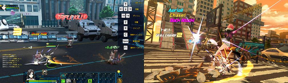 クローザーズ(CLOSERS) ベクトルスクロールと視点変更の違いのプレイ画像