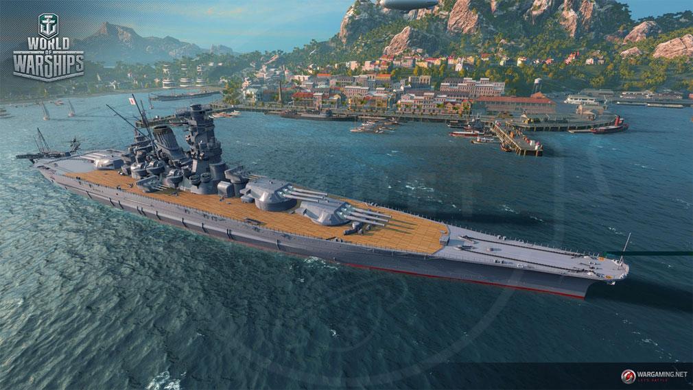 ワールドオブウォーシップス World of Warships (WoWs) 戦艦『武蔵』実装スクリーンショット