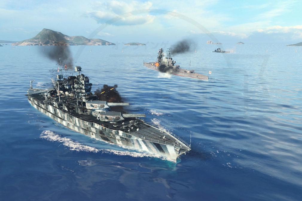 ワールドオブウォーシップス World of Warships (WoWs) Coop戦スクリーンショット