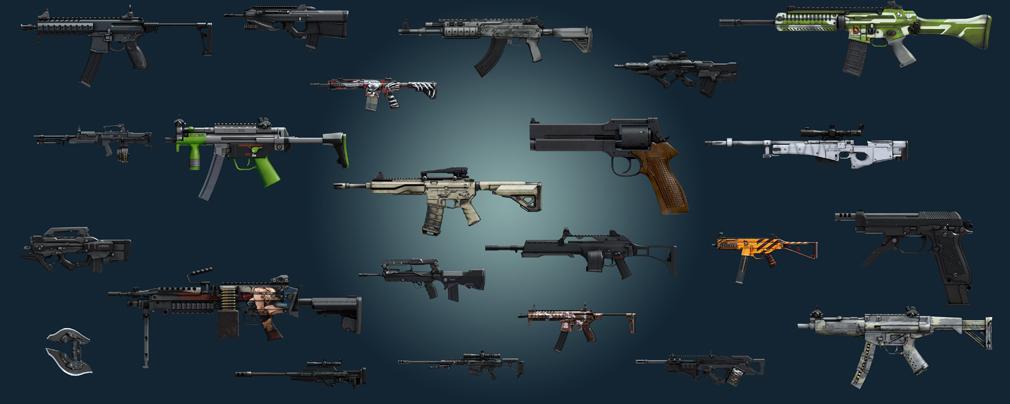 攻殻機動隊S.A.C. ファーストアサルトオンライン 武器カスタマイズ