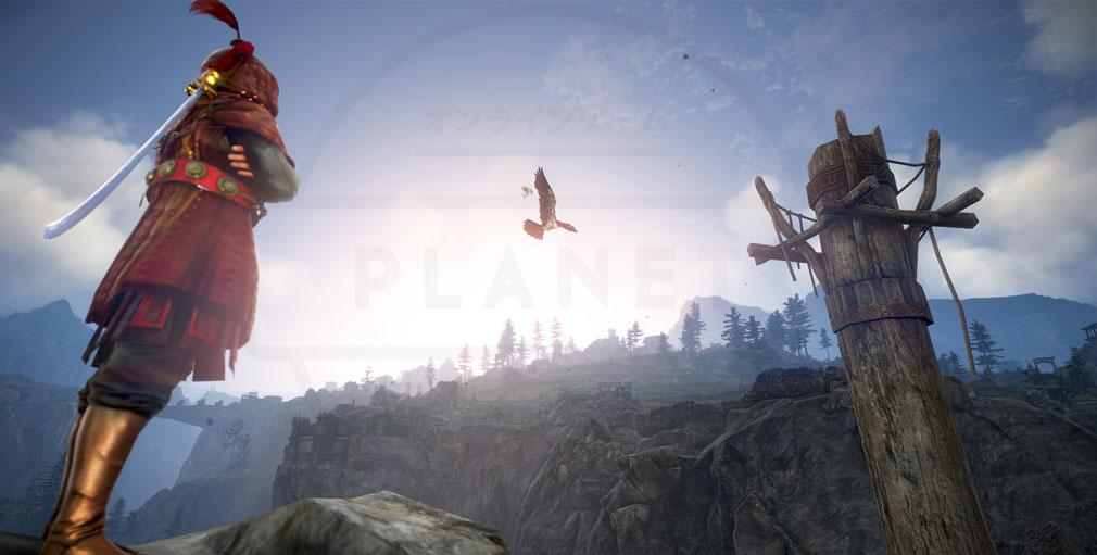 黒い砂漠 6つ目の新エリアとなるドラゴンの住まう霊峰『ドリガン』スクリーンショット