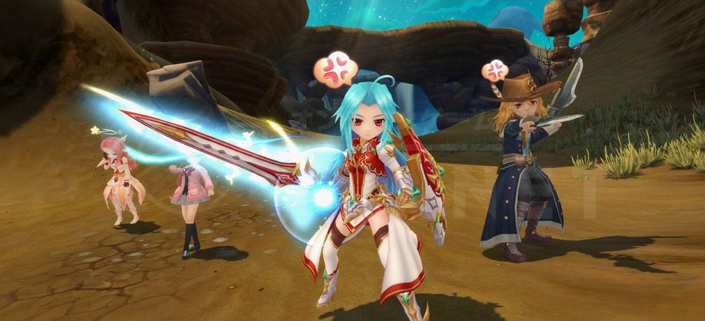 星界神話 -ASTRAL TALE-  新マップ『パージ砂漠』のプレイスクリーンショット