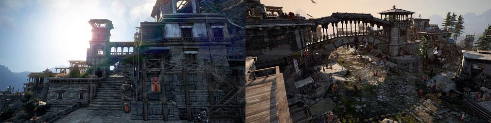 黒い砂漠 『首都ドベンクルン』スクリーンショット