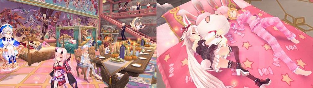 幻想神域-Cross to Fate- ハウジング、『幻神』との特別モーションスクリーンショット
