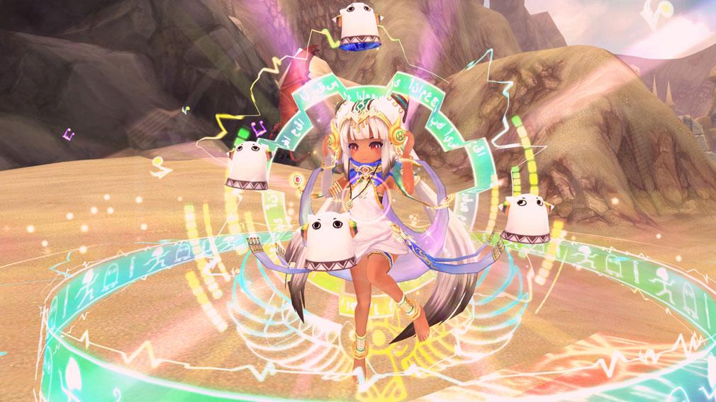 幻想神域-Cross to Fate- 人気幻神『オシリスの破壊神・メジェド』スクリーンショット