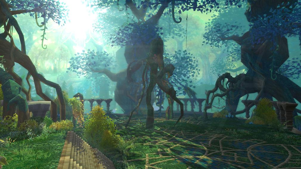 星界神話 -ASTRAL TALE- 新マップ『エスト森林』スクリーンショット