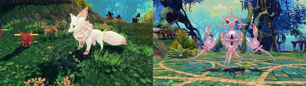 星界神話 -ASTRAL TALE- 新マップ『エスト森林』、世界ボス『ダモンド』スクリーンショット