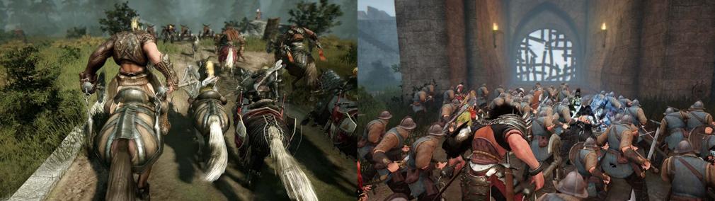 黒い砂漠 騎乗戦闘、大規模戦闘