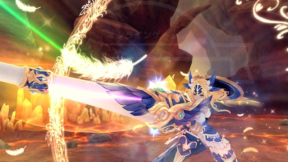 幻想神域-Cross to Fate- 第4章として追加された『アテナの使命』スクリーンショット