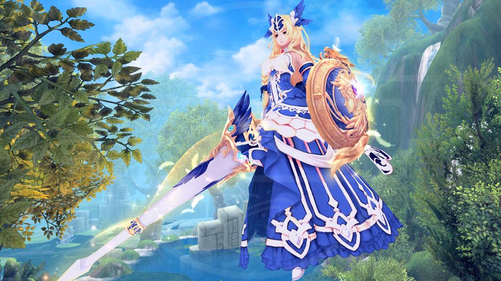 幻想神域-Cross to Fate- 新スタイル『蒼天のアテナスタイル』スクリーンショット