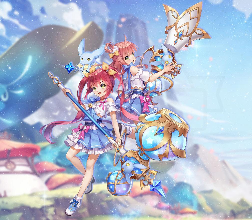 幻想神域-Another Fate- 天使と人間のハイブリットとして誕生した新種族『リリ族』紹介イメージ