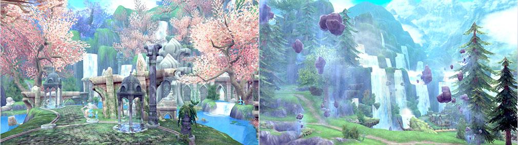 幻想神域-Another Fate- 新マップ『ミッシングバレー』スクリーンショット