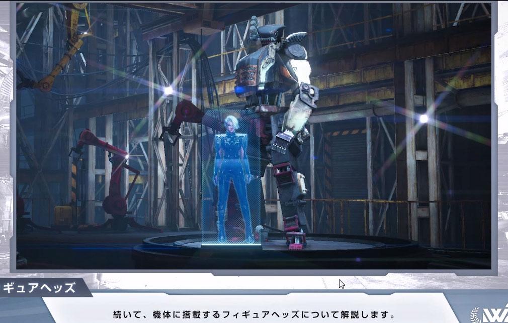 Figureheads(フィギュアヘッズ) AIと僚機ロボット