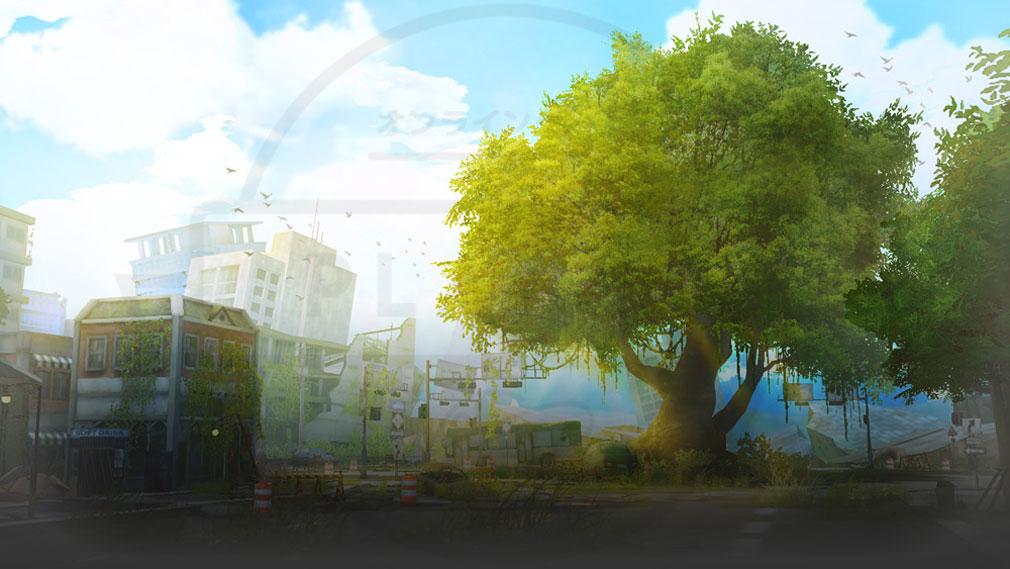 ソウルワーカー(Soulworker) 新エリア『ディプルス港湾都市』世界観イメージ