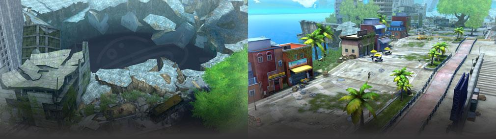 ソウルワーカー(Soulworker) 新エリア『ディプルス港湾都市』スクリーンショット