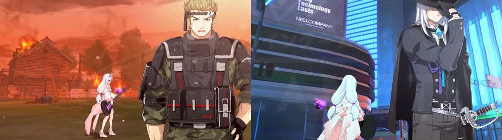 ソウルワーカー(Soulworker) 『ディプルス・ホライズン』NPCスクリーンショット