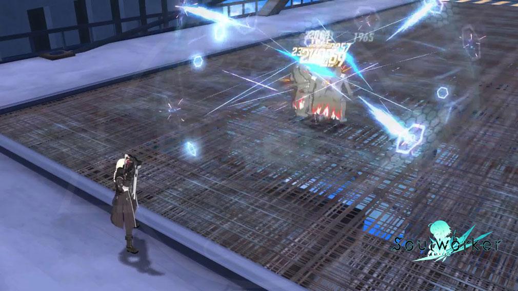 ソウルワーカー(Soulworker) アーウィンの新スキル『スワローブレット』スクリーンショット