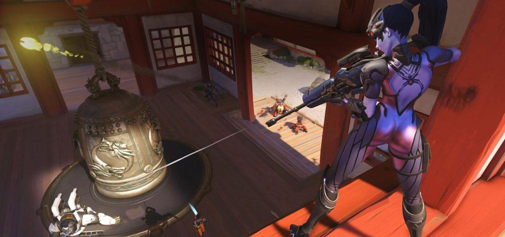 Overwatch (オーバーウォッチ)Capture Point (キャプチャーポイント) マップHanamura(ハナムラ)
