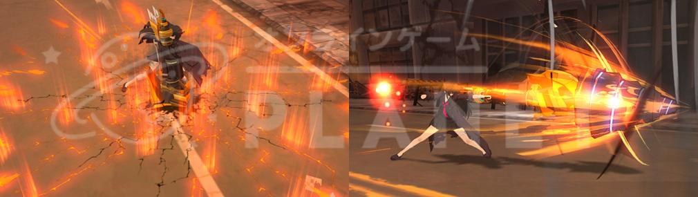 ソウルワーカー(Soulworker) イリス・ユマのスキル