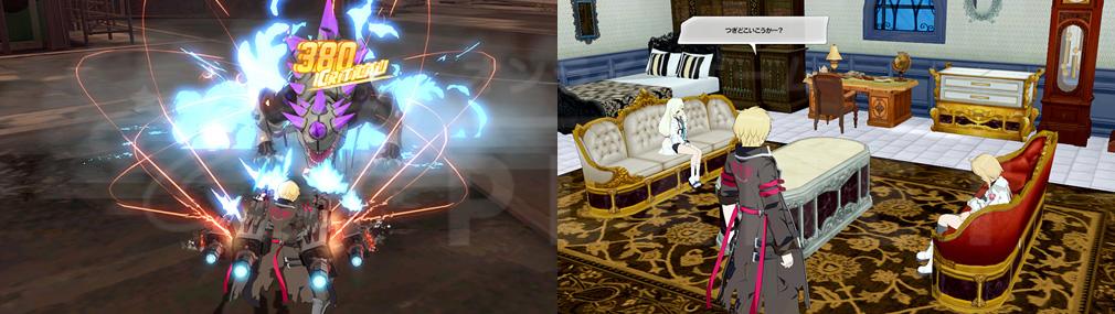 ソウルワーカー(Soulworker) コンボアクションとマイルーム