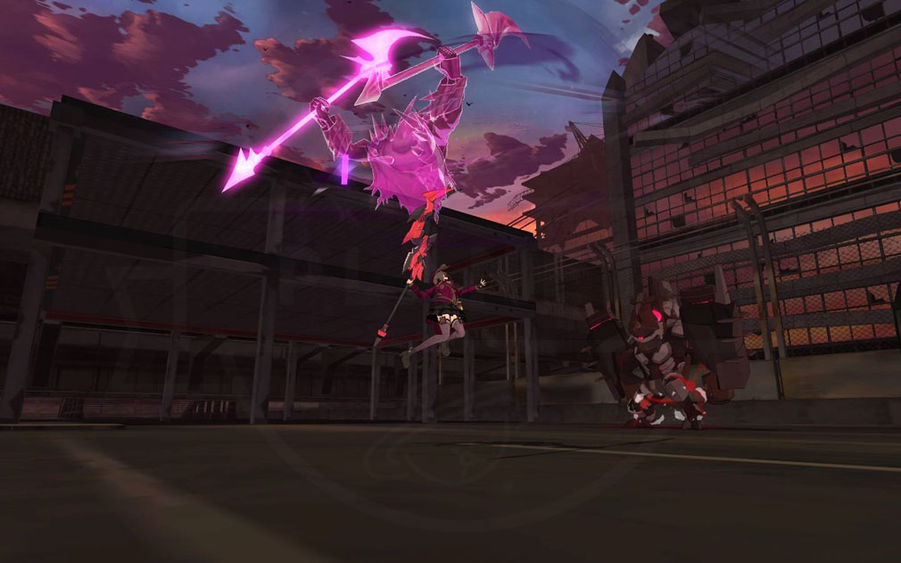 ソウルワーカー(Soulworker) スキルアクションスクリーンショット