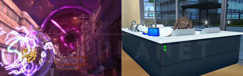 ソウルワーカー(Soulworker) スキルアクション、入浴スクリーンショット