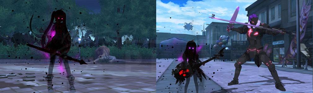 ソウルワーカー(Soulworker) メイズで対峙する影『デザイアリリー』、『デザイアステラ』スクリーンショット
