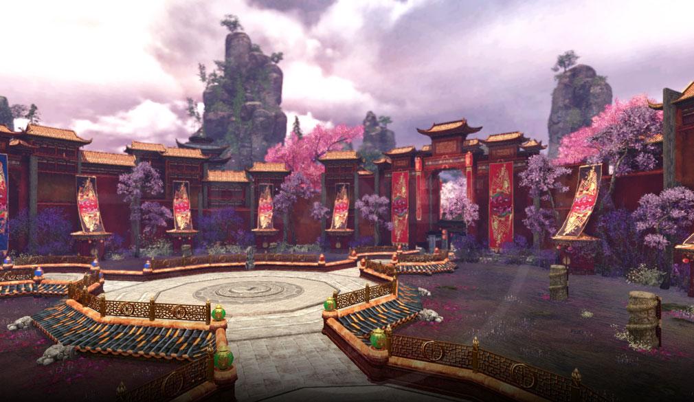 アーキエイジ(ArcheAge) 『BuleSalt』サーバで追加されるインスタンスダンジョンの『饗宴の園』イメージ
