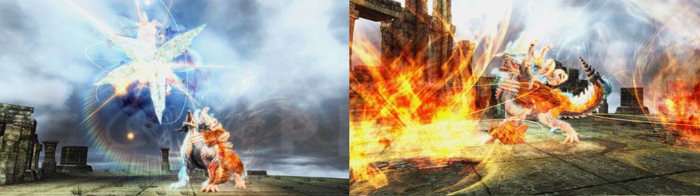 ファンタシースターオンライン2 PHANTASY STAR ONLINE2 (PSO2) 灼熱と絶対零度、相反する2つの力を操り、強力な属性攻撃を繰り出す『エルゼリオン』スクリーンショット