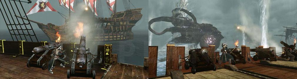 アーキエイジ(ArcheAge) 海上コンテンツ『アビスレイド』スクリーンショット
