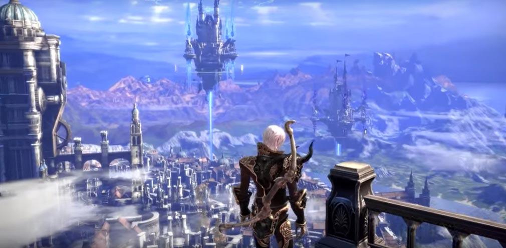 TERA(テラ The Exiled Realm of Arborea) ギルドハウス天空の城から一望