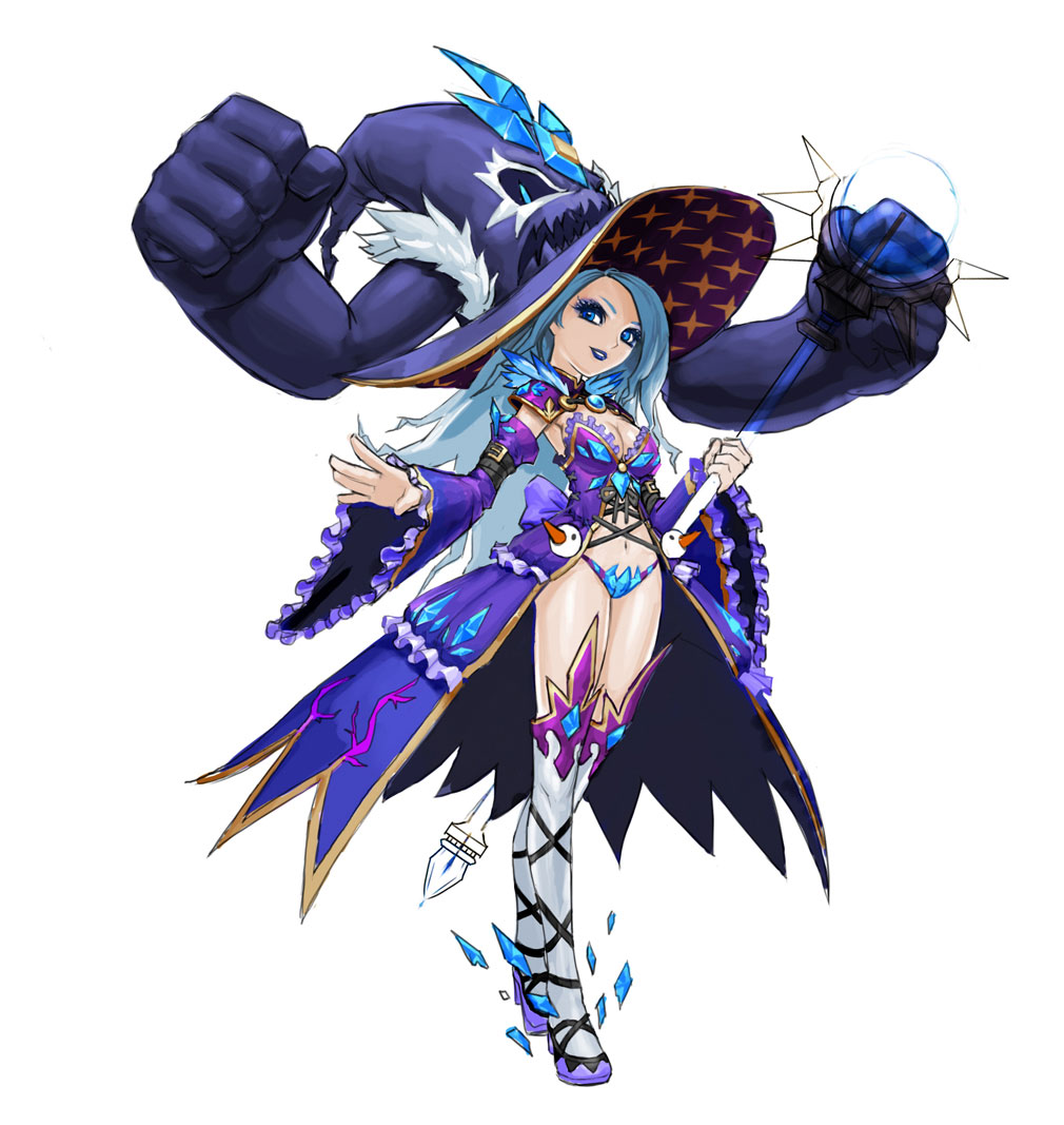 Luna: 月光盗賊団(ルナ: 月光盗賊団) 氷の魔女