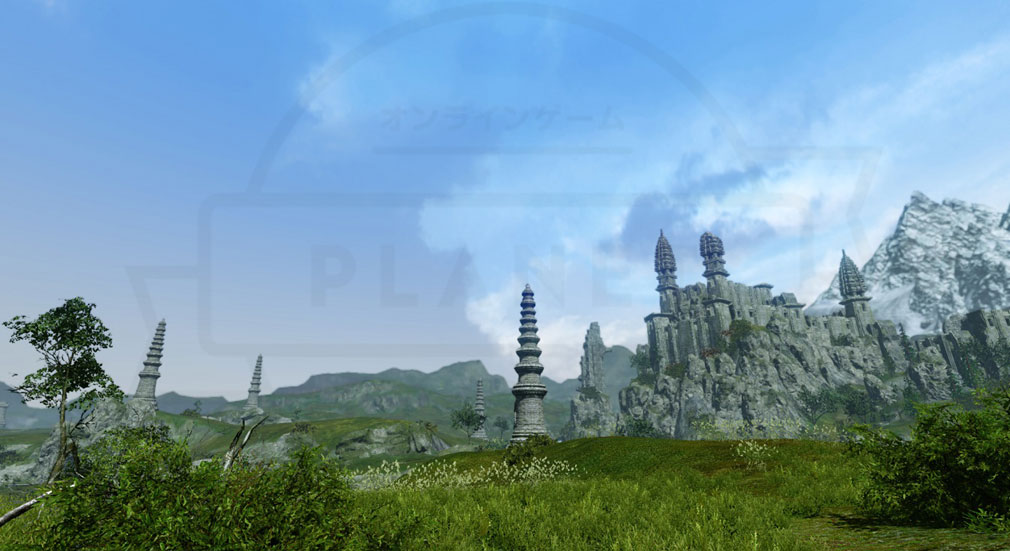 アーキエイジ(ArcheAge) 新マップとして実装される『ヒラマ山脈西部』紹介イメージ